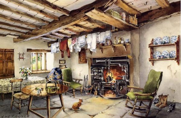 Old Cumbrian Kitchen