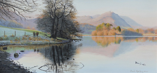 Winter Reflections On Grasmere