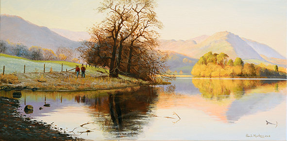 A Winter Walk, Grasmere