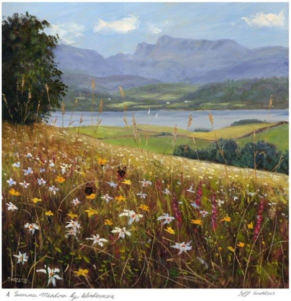 A Summer Meadow by Windermere