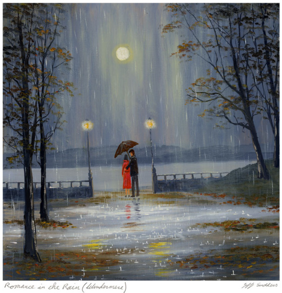 Cookhouse gallery romance in the rain windermere for Posters art contemporain