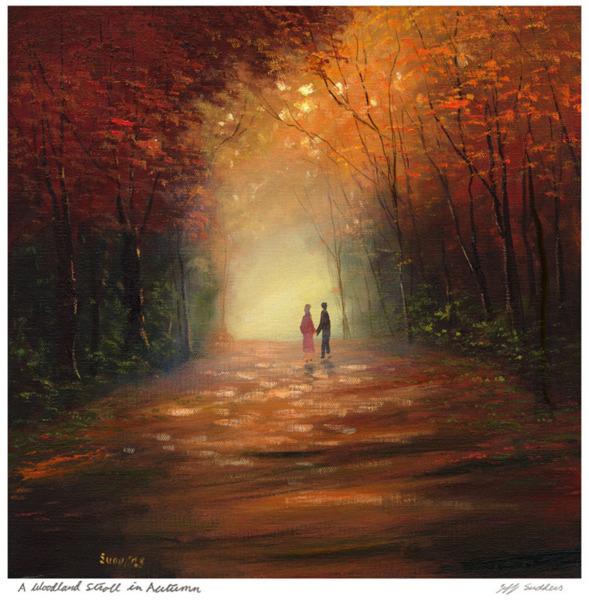 Woodland Stroll in Autumn