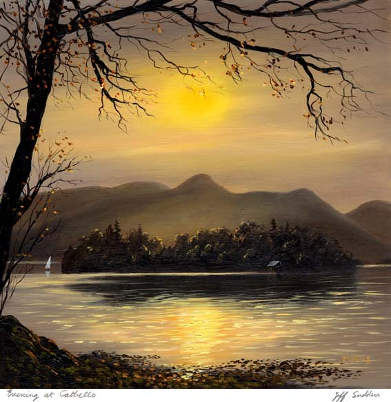 Evening at Catbells