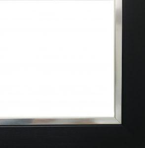 Black/silver frame