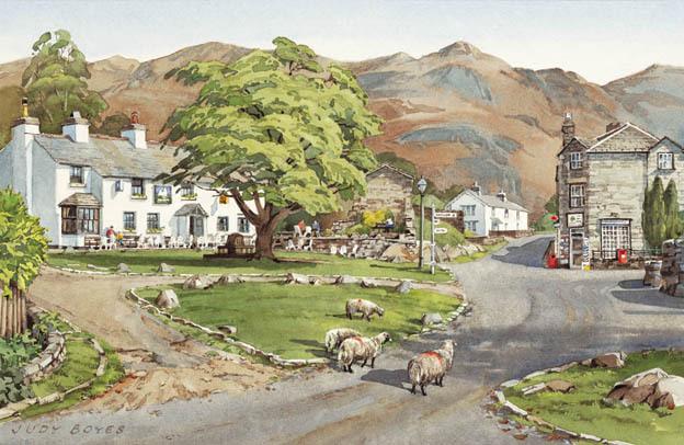Elterwater Village, Langdale