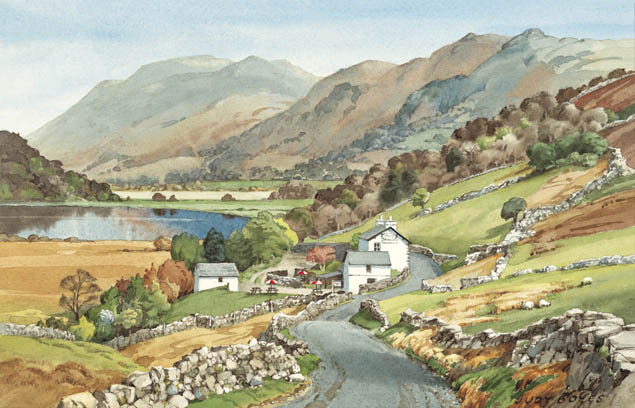 Place Fell from Brotherswater Inn
