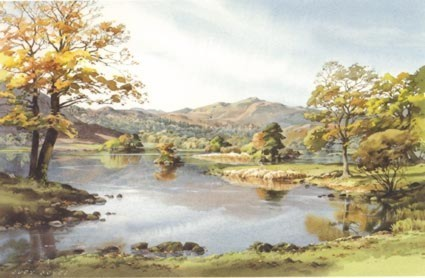 Silver Howe from Rydal water in September