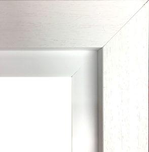 White Frame with Slip