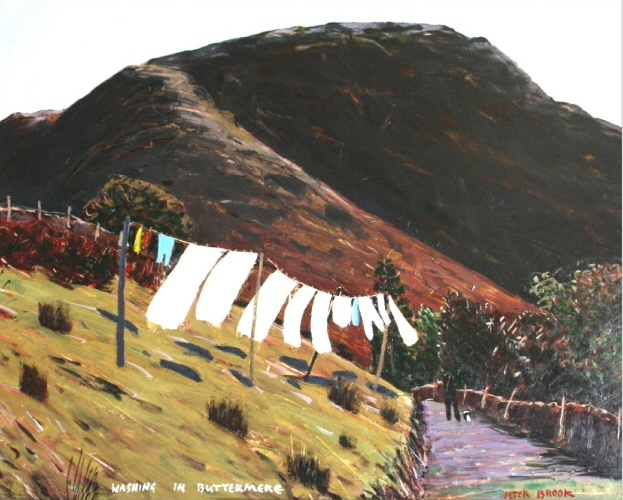 Washing in Buttermere