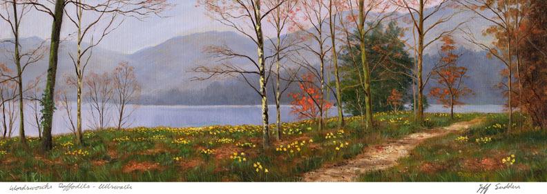Wordsworth's Daffodils, Ullswater