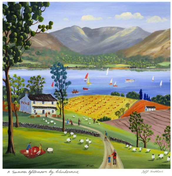 A Summer Afternoon by Windermere