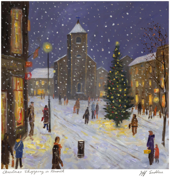 Christmas Shopping in Keswick