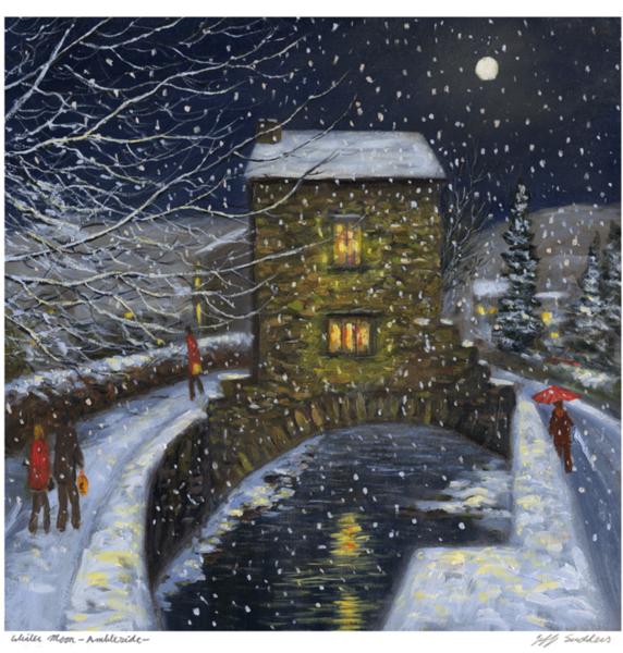 Winter Moon, Ambleside