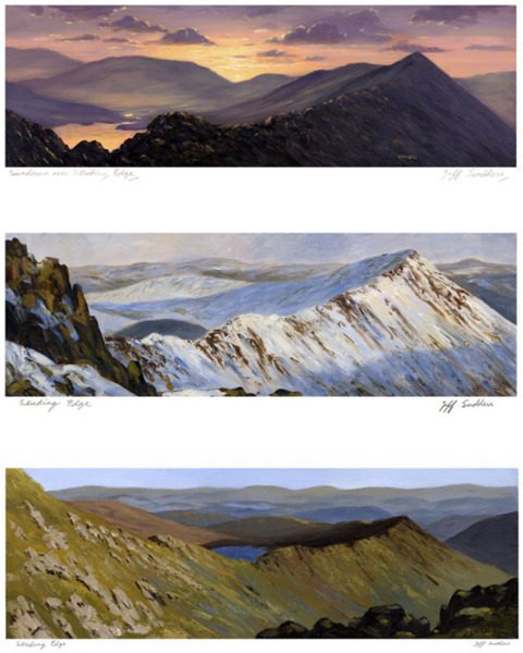 Three Views of Striding Edge
